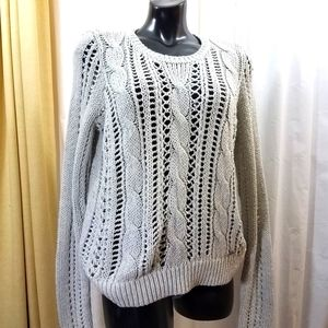 Abercrombie & Fitch Open Cable Knit